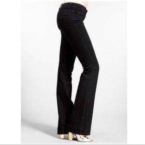 J Brand Scarlett Bootcut Jeans Jett Black